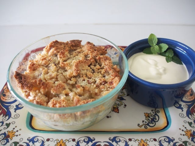 Low Carb Apple Cake Recipes: Low Carb Apple Crumble