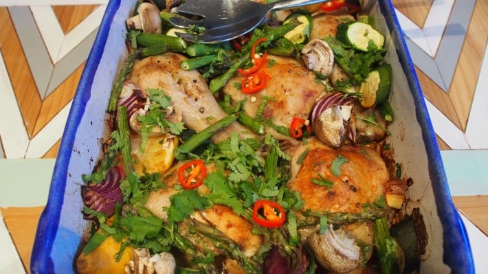 Baked Lemon Cumin Chicken